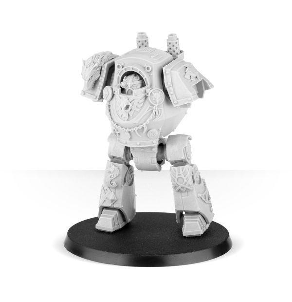 Space Wolves Legion Contemptor Dreadnought