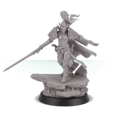 Jenetia Krole, Knight-Commander of the Silent Sisterhood