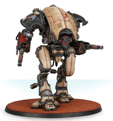 Mechanicum Knight Moirax with Lightning Locks