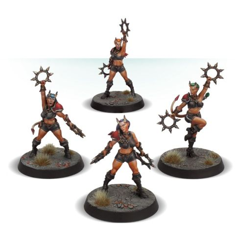 Blood Bowl The Damned Damsels