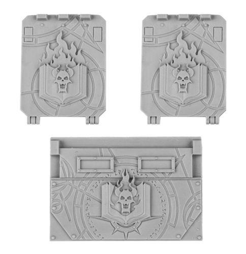 Word Bearers Rhino Doors and Front Plate