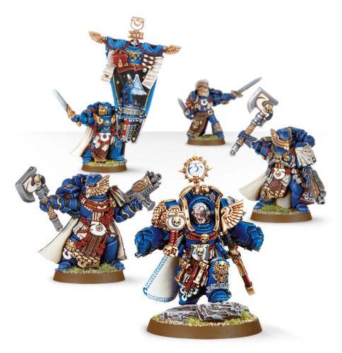 Ultramarines Marneus Calgar and Honour Guard
