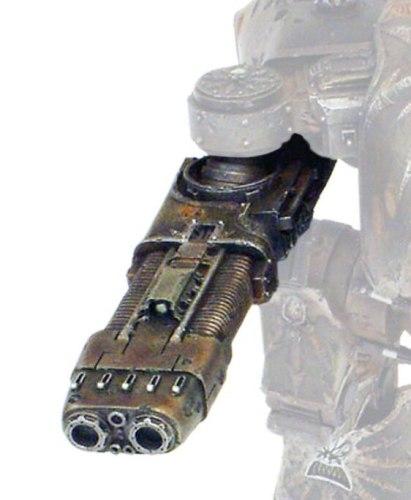 Chaos Warhound Titan Plasma Blastgun