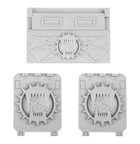 World Eaters Legion Rhino Doors and Front Plate