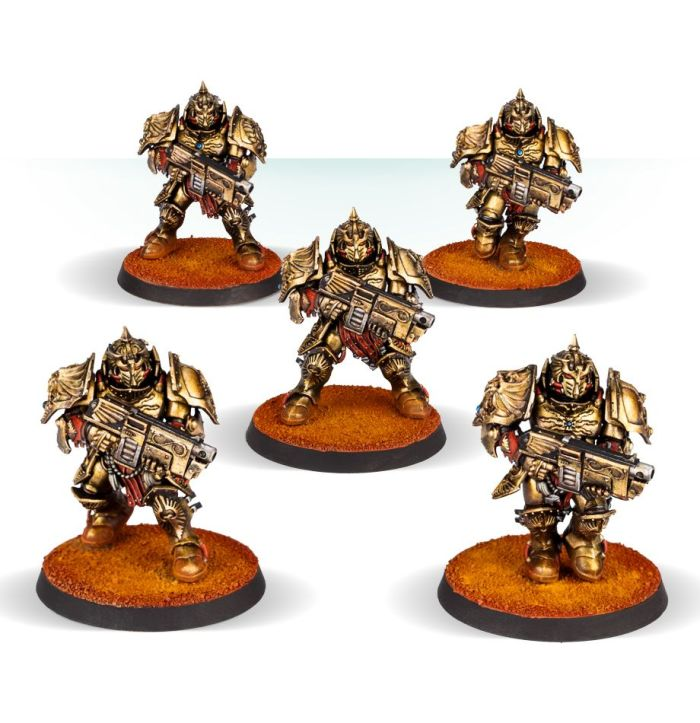 Adeptus Custodes   Legio Custodes Sagittarum Guard