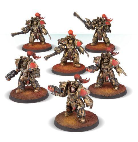 Legio Custodes Aquilon Terminator Squad