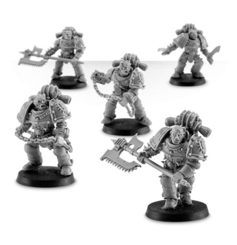 WORLD EATERS LEGION RAMPAGER SQUAD