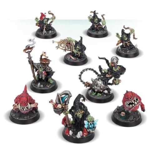 Goblins Nightvault – Zarbag's Gitz (Gloomspite Gitz)