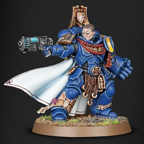 Space Marines Primaris Captain With Power Fist Limited Edition