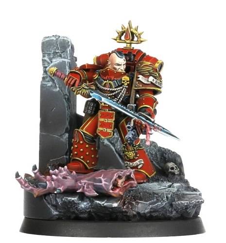 Chapter Master Raldoron, First Captain of the Blood Angels