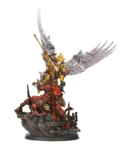 Sanguinius, Primarch of the Blood Angels, with Diorama Base