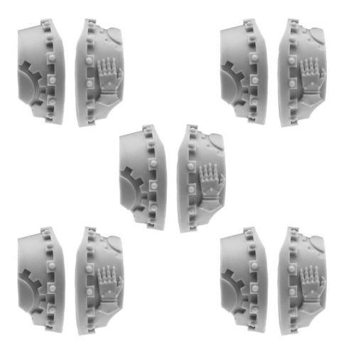 CATAPHRACTII TERMINATOR SHOULDER PADS - IRON HANDS