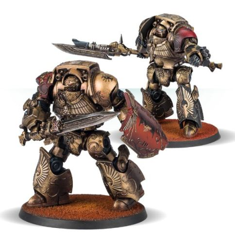 Legio Custodes Contemptor Dreadnoughts