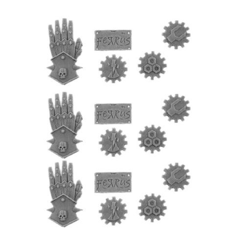 IRON HANDS ICONS