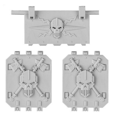 Iron Warriors Land Raider Doors