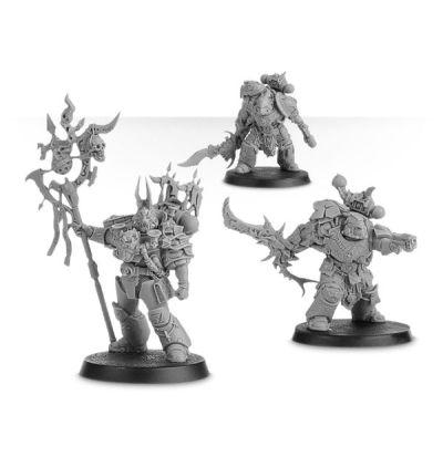 Zardu Layak and Blade-slaves Bodyguard