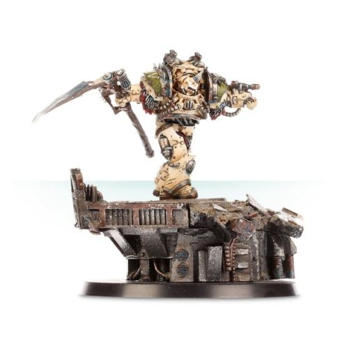 CALAS TYPHON - FIRST CAPTAIN OF THE DEATH GUARD LEGION