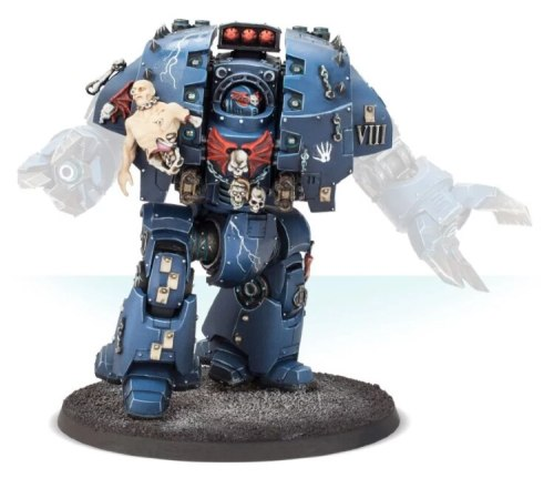 Night Lords Leviathan Pattern Siege Dreadnought Body