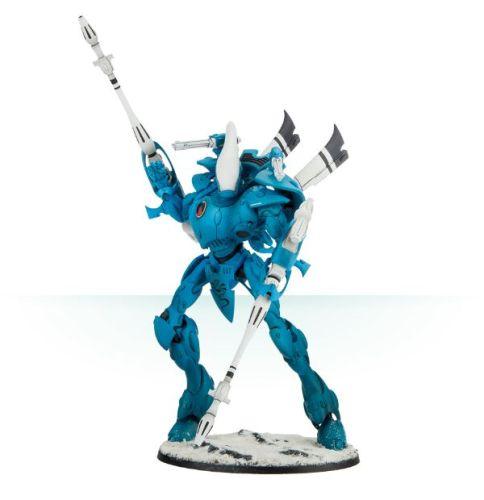 ELDAR Skathach Wraithknight with Inferno Lances
