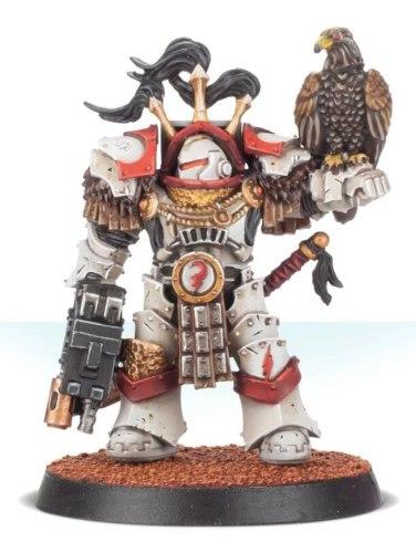 White Scars Legion Praetor in Cataphractii Terminator Armour