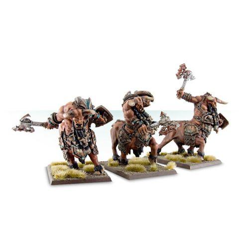 Bull Centaur Renders