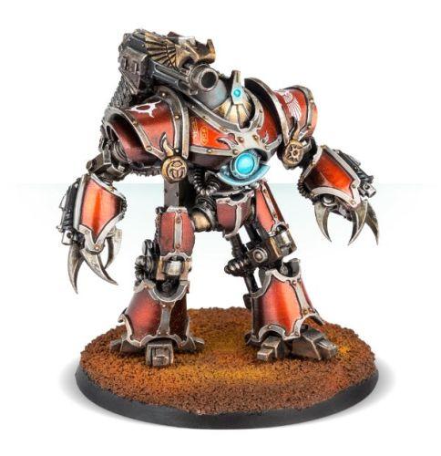 Mechanicum Castellax-Achea Battle-automata with Mauler Pattern Bolt Cannon