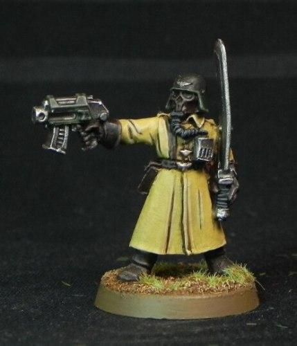 Steel Legion Commander with Power Sword & Pistol