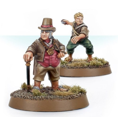 Hobbit Personalities of the Shire™ – Will Whitfoot and Baldo Tulpenny
