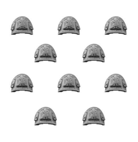 WORD BEARERS LEGION MK III SHOULDER PADS