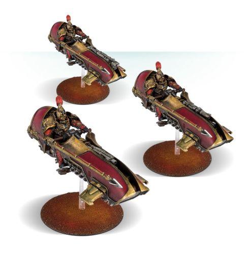 Legio Custodes Agamatus Jetbike Squadron
