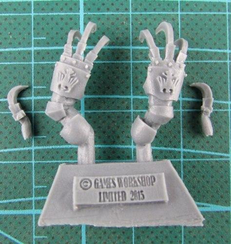 Raven Guard Dark Fury Assault Squad bits - claw