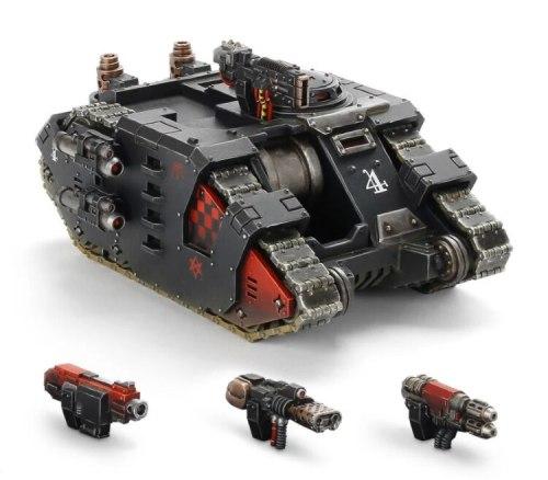 Space Marine Legion Sabre Strike Tank: Hull
