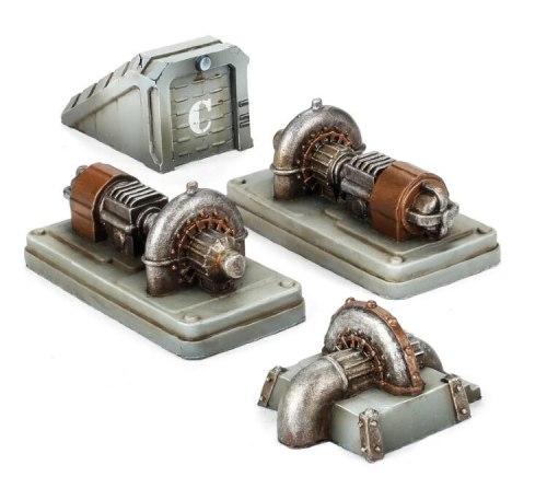 Adeptus Titanicus Power Generators