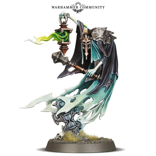 Nighthaunt Darrakar Guardian of Souls Limited Edition(Clear Material)