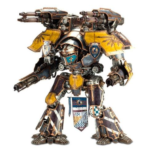 Mars-Alpha Pattern Warlord Titan