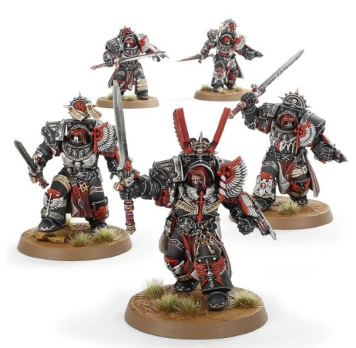 Dark Angels Legion Inner Circle Knights Cenobium