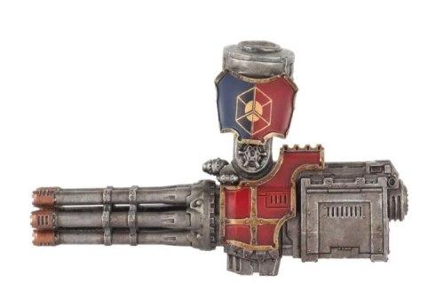 Adeptus Titanicus Warlord Battle Titan Macro Gatling Blaster