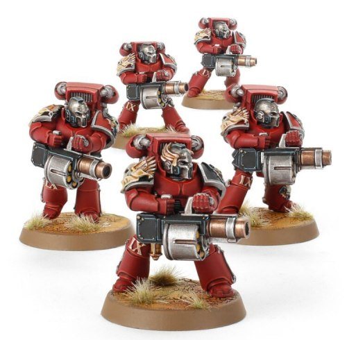 Blood Angels The Angel's Tears with Grenade Launchers