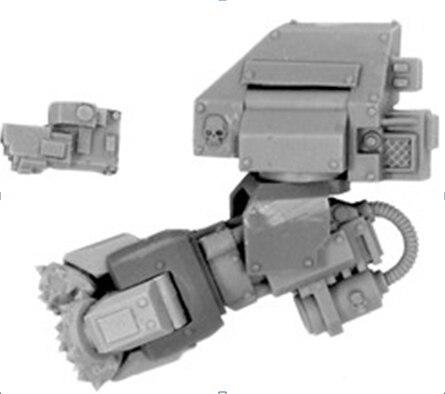 MK IV DREADNOUGHT ASSAULT DRILL (LEFT ARM)