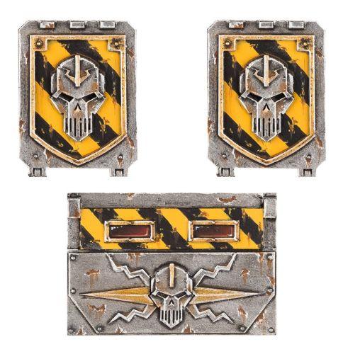 Iron Warriors Rhino Doors and Frontplate