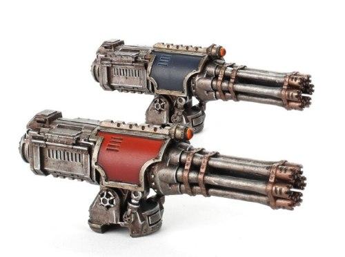 Adeptus Titanicus Warlord Battle Titan Paired Gatling Blasters