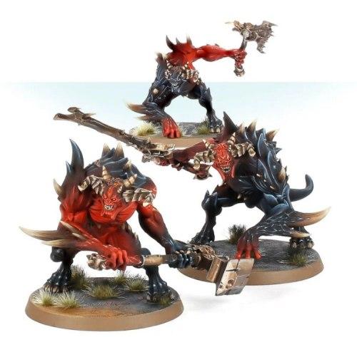 Chaos Ruinstorm Daemon Brutes