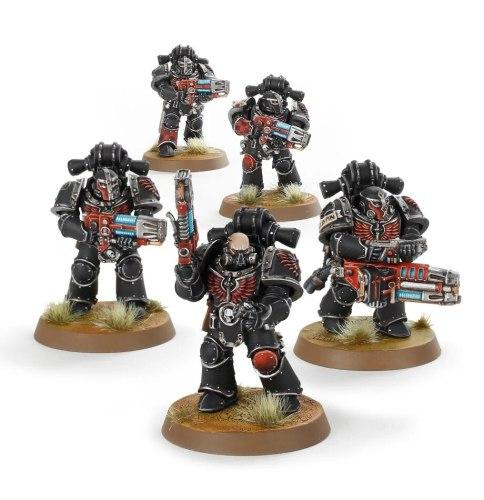 Dark Angels Legion Interemptor Squad