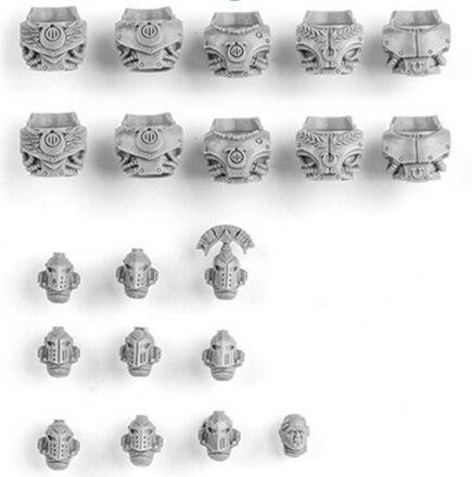 ULTRAMARINES MK IV PRAETORIAN HEADS & TORSOS