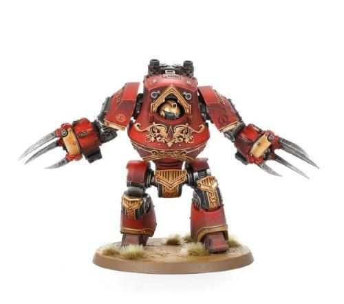 Blood Angels Legion Contemptor-Incaendius Class Dreadnought
