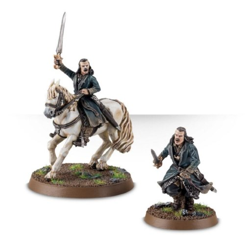 Bard the Bowman on Foot & Mounted