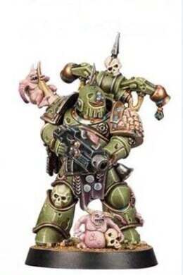 Space Marine Heroes Series 3  JAPAN EXCLUSIVE  DEATH GUARD the sixth
