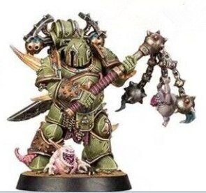 Space Marine Heroes Series 3  JAPAN EXCLUSIVE  DEATH GUARD the fifth