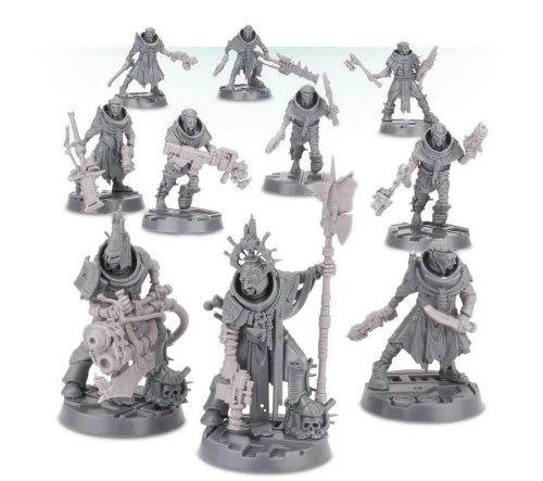 Necromunda House Cawdor: Fully Armed Gang