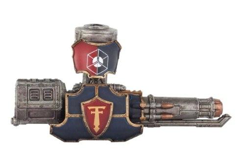 Adeptus Titanicus Warlord Battle Titan Quake Cannon